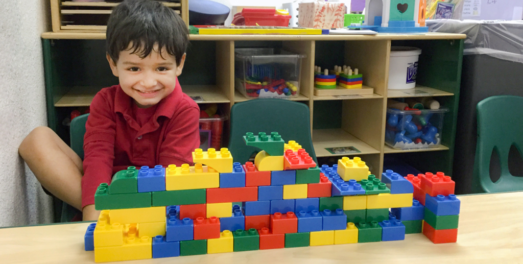 Start building a love of math and science early in life