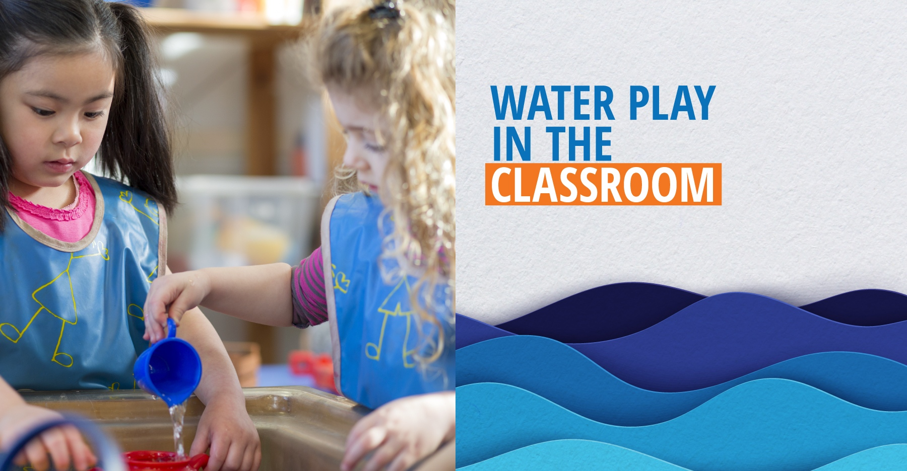 Water play activities to support learning